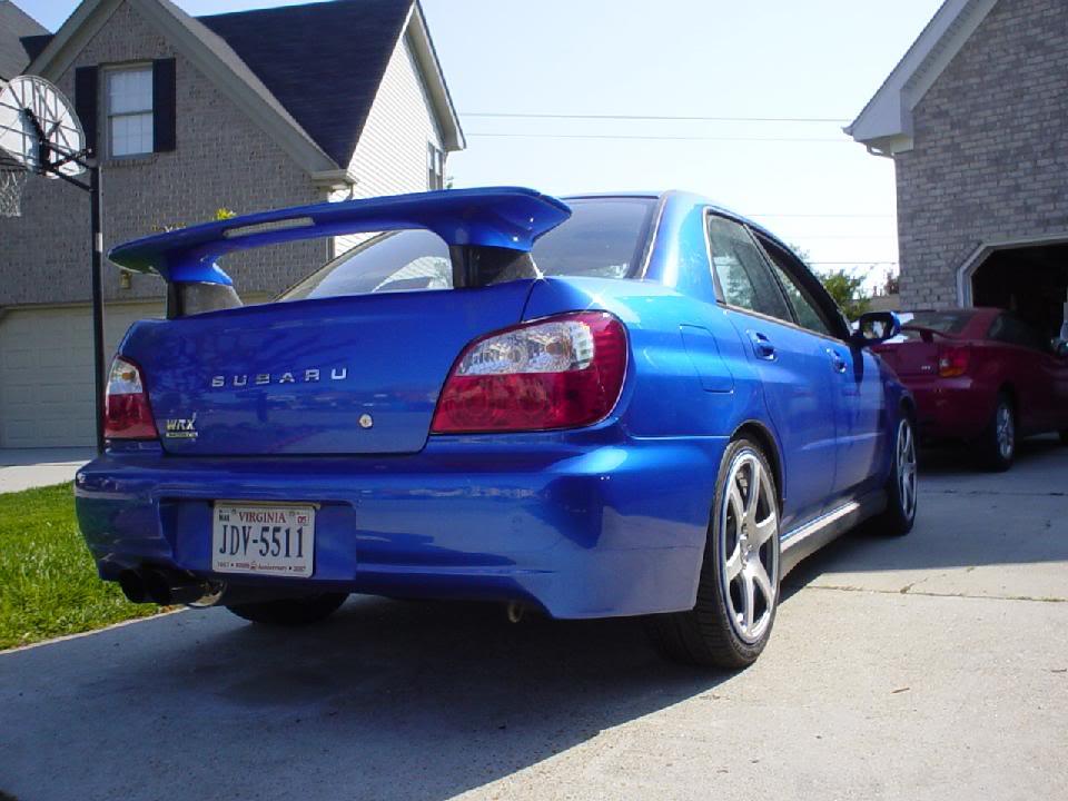 Subaru Wrx Sti Gdb 90mm Zero Sports Style Wing Risers